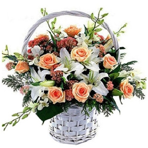 China Flowers - Flowers In Basket