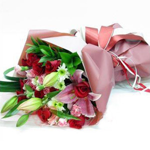 bouquet to China
