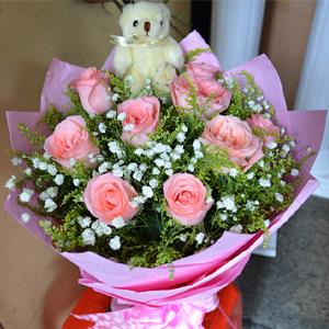 9 Pink Rose