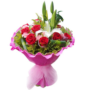 Send bouquet to China