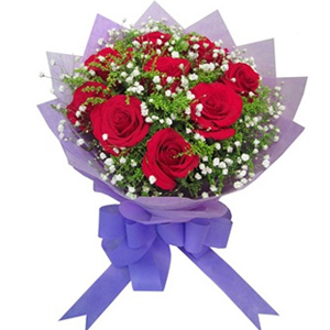 9 Rose (Red) Bouquet